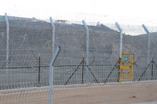 horrid border at Majdal al-Shams