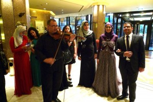 Egyptian wedding during the national  upheaval