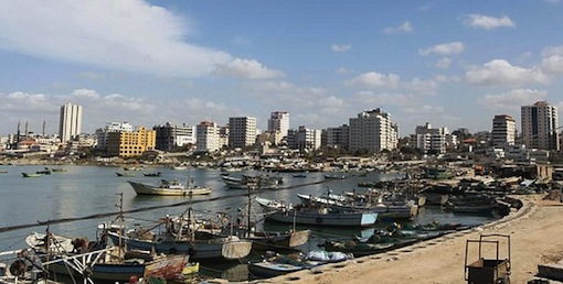 Gaza fishing fleet
