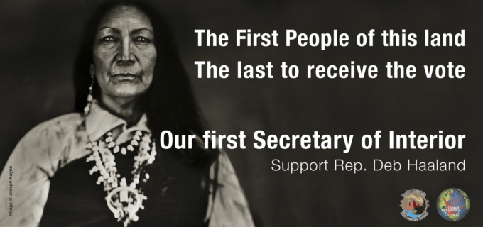 Right Back at You: Tribes Fight Back Against the Rightwing Assaults on Deb Haaland