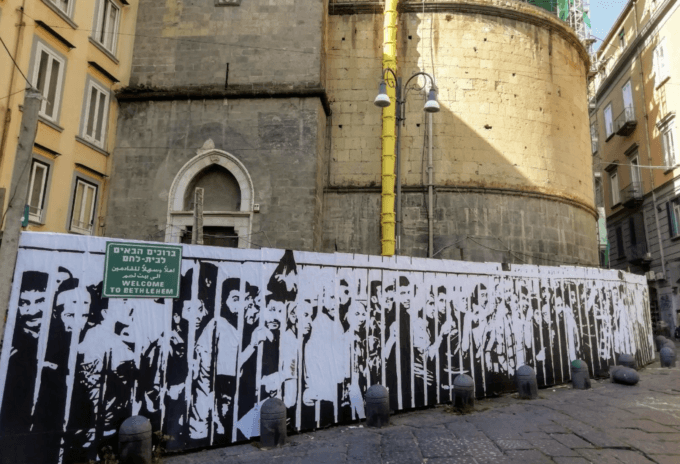 'Anti-Zionist Naples': Award-Winning Italian Artist Speaks about Palestine and Why He Quit Photojournalism - CounterPunch.org
